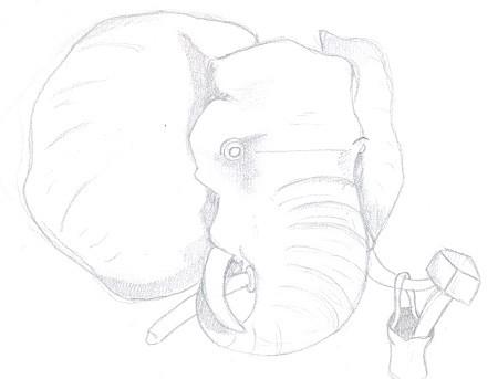 Stonemason Elephant